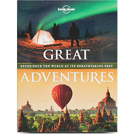 WH SMITH Lonely Planet Great Adventures by various authors