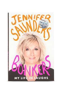 WH SMITH Bonkers: My Life in Laughs by Jennifer Saunders