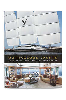 WH SMITH Outrageous Yachts by Jill Bobrow