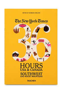 BOOKSHOP The New York Times: 36 Hours USA & Canada Southwest and Rocky Mountains edited by Barbara Ireland