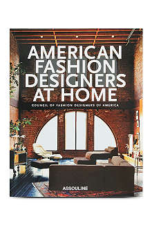BOOKSHOP American Fashion Designers at home by Rima Suqi