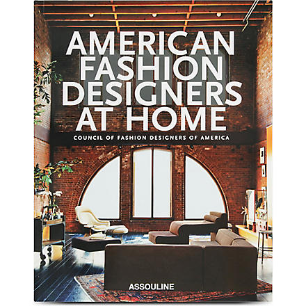 WH SMITH American Fashion Designers at home by Rima Suqi