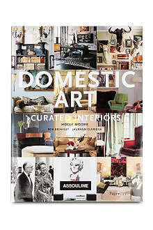 BOOKSHOP Domestic Art: Curated Interiors