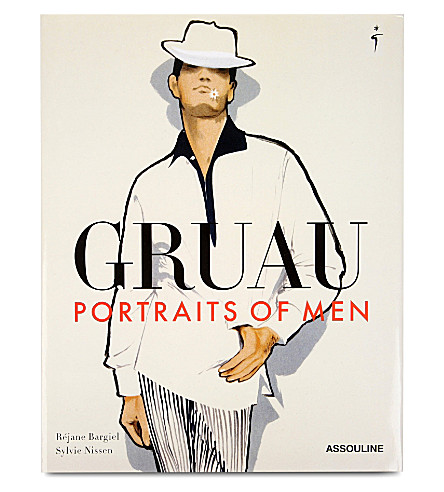WH SMITH René Gruau: Portraits of Men by Rejane Bargiel and Sylvie Nissen