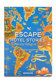 BOOKSHOP Escape Hotel Stories by Francisca Matteoli