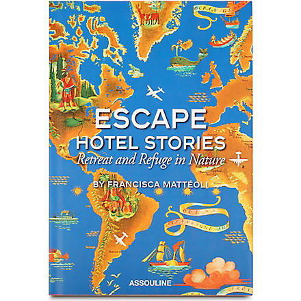 WH SMITH Escape Hotel Stories by Francisca Matteoli