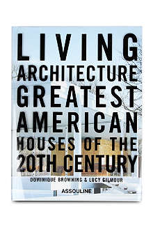 BOOKSHOP Living Architecture by Dominique Browning