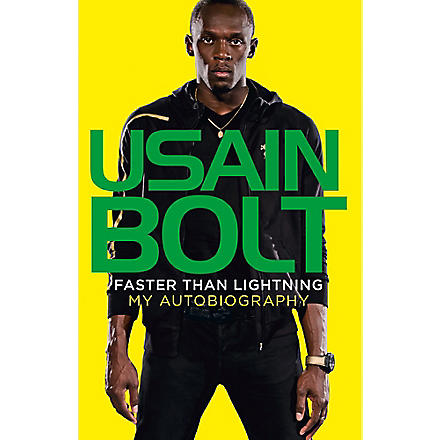 WH SMITH Faster Than Lightning: My Autobiography by Usain Bolt