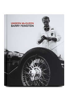 BOOKSHOP Unseen McQueen by Barry Feinstein