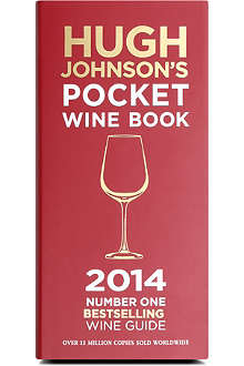 WH SMITH Hugh Johnson's Pocket Wine Book 2014