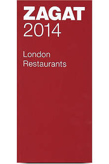 WH SMITH Zagat 2014 London restaurants