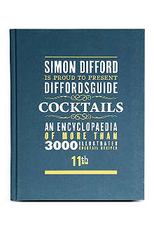 WH SMITH Difford's Guide to Cocktails by Simon Difford