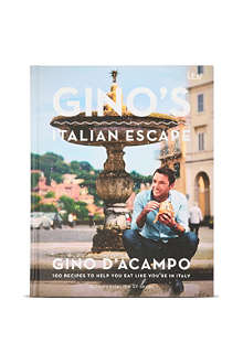 WH SMITH Gino's Italian Escape by Gino D'Acampo
