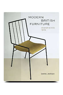BOOKSHOP Modern British Furniture: Design Since 1945 by Lesley Jackson