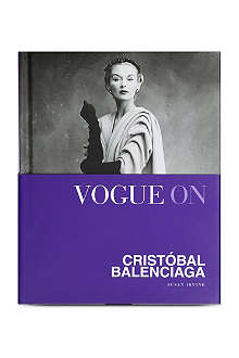 WH SMITH Vogue On: Cristobal Balenciaga by Susan Irvine