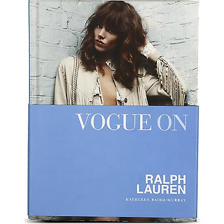 WH SMITH Vogue On: Ralph Lauren by Kathleen Baird-Murray