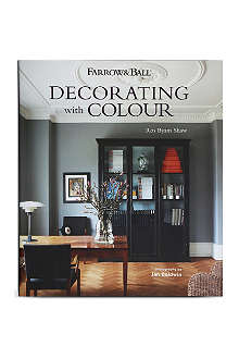 WH SMITH Farrow & Ball: Decorating with Colour by Ros Byam Shaw