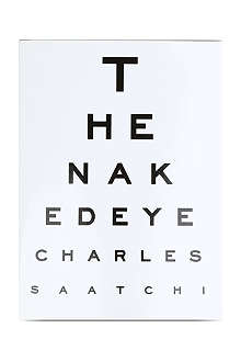 WH SMITH The Naked Eye by Charles Saatchi