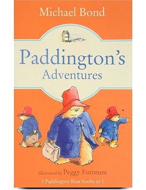 WH SMITH Paddington's adventures book