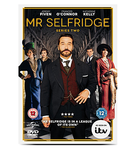 WH SMITH Mr. Selfridges Series 2 DVD