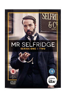 WH SMITH Mr. Selfridge Series 1 and 2 DVD