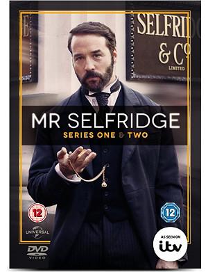 WH SMITH Mr. Selfridge Series 1 and 2 DVD