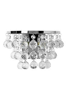 LIGHT SHOP Atlas crystal wall light