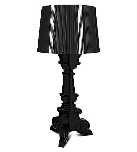 KARTELL Kartell bourgie table lamp black (Black