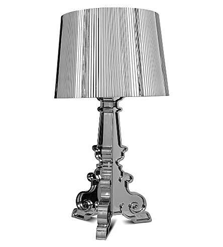 Kartell Kartell Bourgie Table Lamp Chrome Selfridges Com