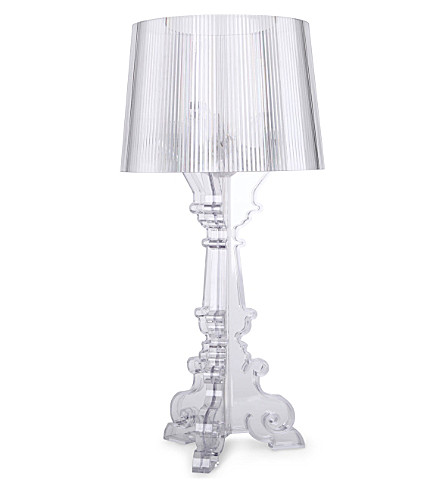 KARTELL Bourgie table lamp (Crystal