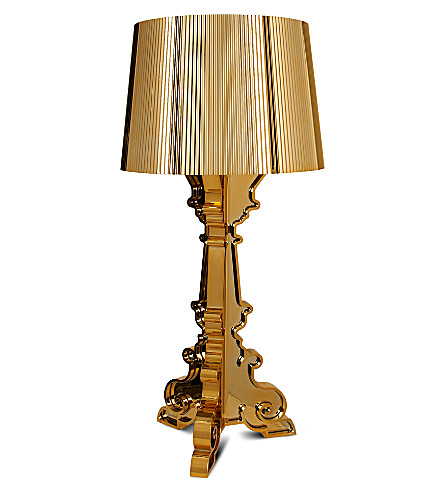 KARTELL Kartell bourgie table lamp - gold