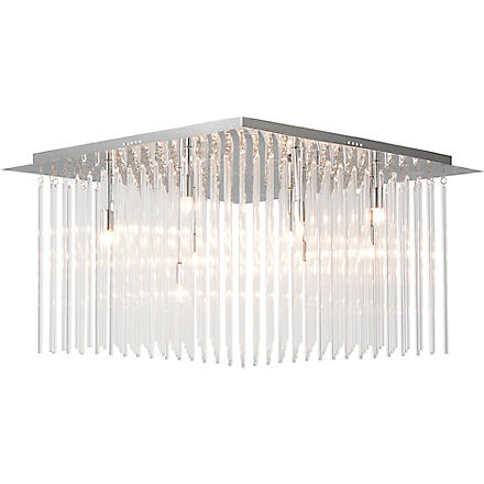 LIGHT SHOP Carriage glass rod ceiling light