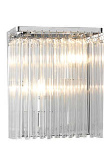 LIGHT SHOP Carriage glass rod wall light