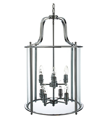 LIGHT SHOP Classico eight light lantern pendant