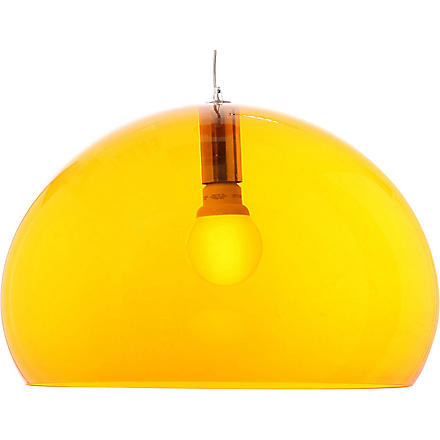KARTELL FL/Y orange pendant lamp (Orange