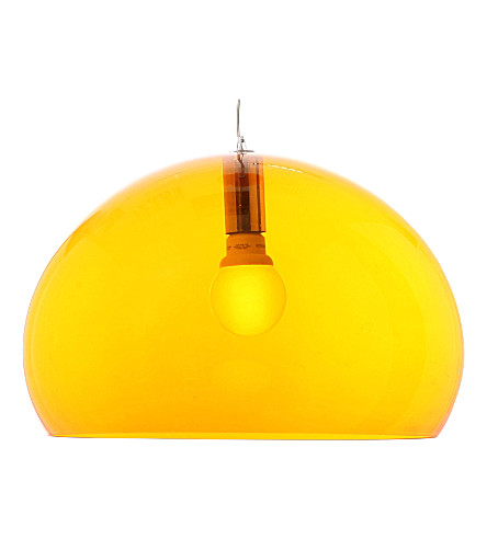 KARTELL FL/Y orange pendant lamp (Orange