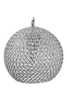 LIGHT SHOP Gardner large crystal ball pendant light
