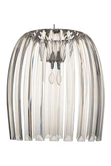 LIGHT SHOP Romeo large pendant light clear