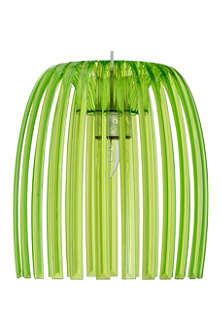LIGHT SHOP Romeo medium pendant light green