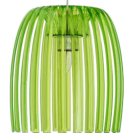LIGHT SHOP Romeo medium pendant light green (Green