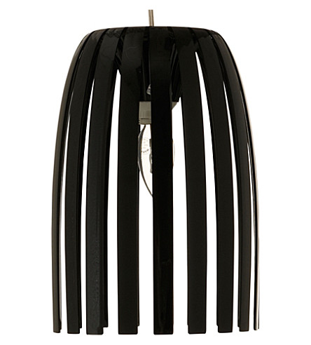 LIGHT SHOP Romeo small pendant light black (Black