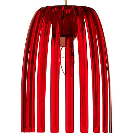 LIGHT SHOP Romeo small pendant light red (Red
