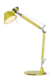 ARTEMIDE Artemide Tolomeo desk lamp yellow