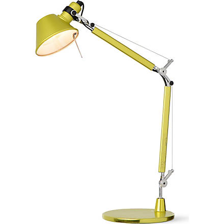 ARTEMIDE Artemide Tolomeo desk lamp yellow (Anodized+yellow