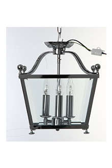LIGHT SHOP Trio three light flush lantern light