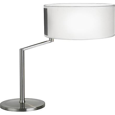LIGHT SHOP Turn table lamp with shade