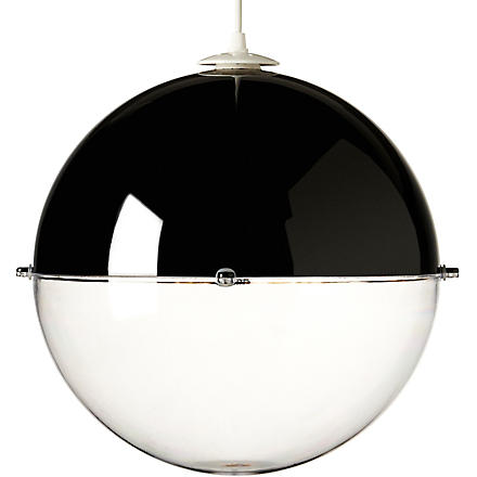 LIGHT SHOP Venus ball pendant light black (Black