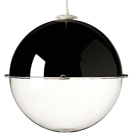LIGHT SHOP Venus ball pendant light black (Black