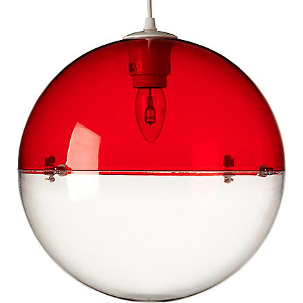 LIGHT SHOP Venus ball pendant light red (Red