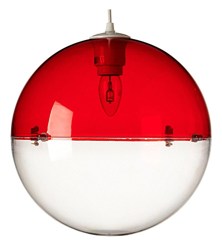 LIGHT SHOP Venus ball pendant light red (Red